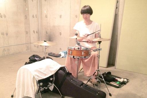 ようこさんドラム7:15.JPG